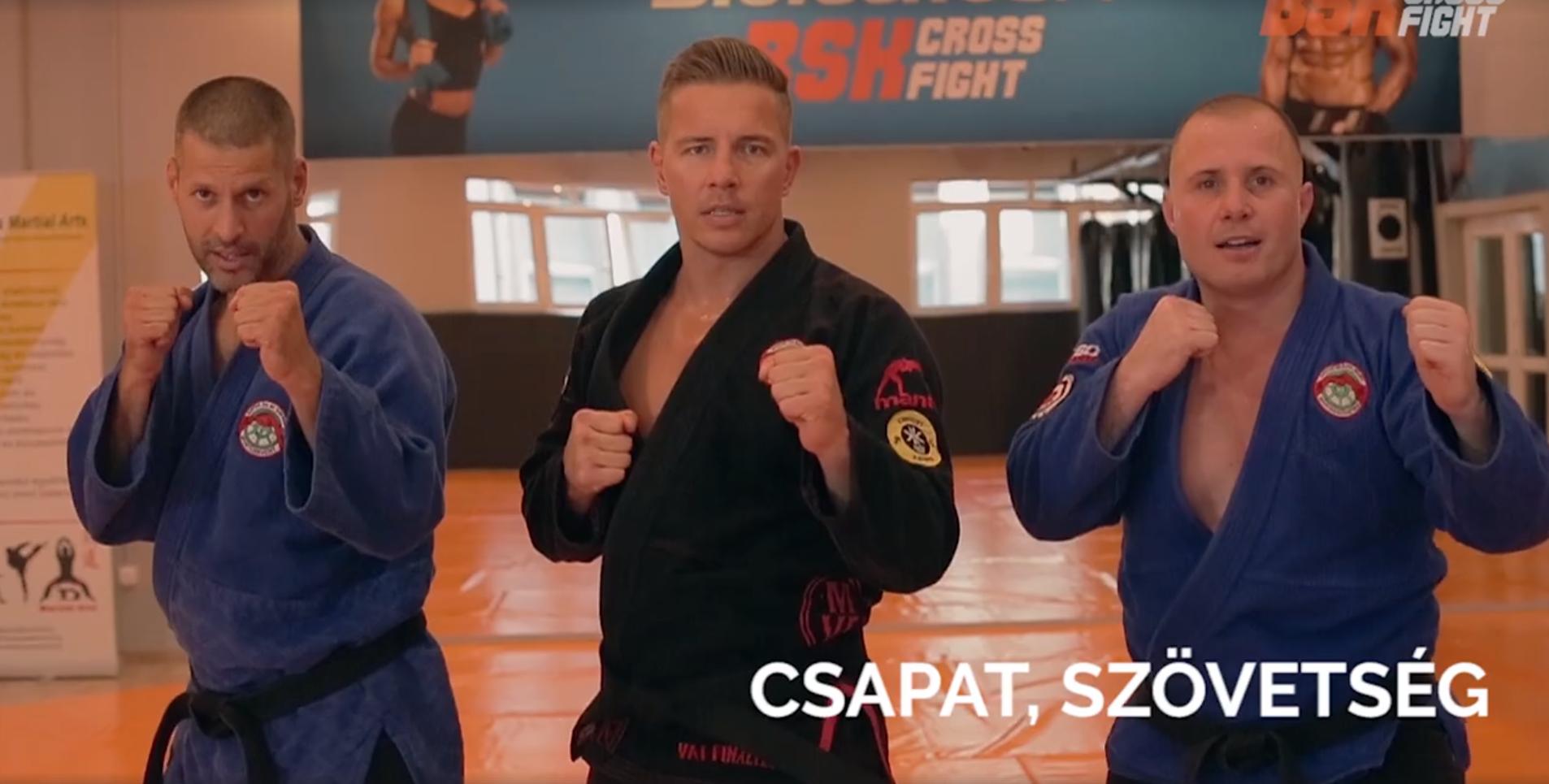 Videó: Kempo edzések a BSK Crossfightban