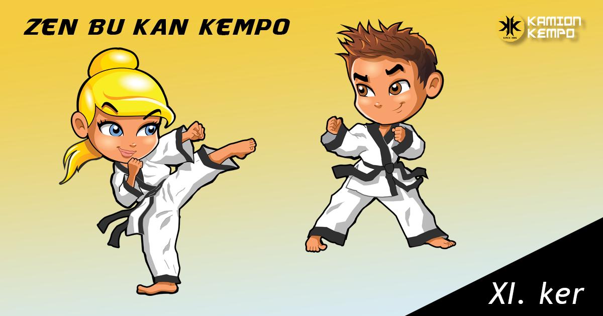 Gyerek Kempo edzések a XI. kerületben